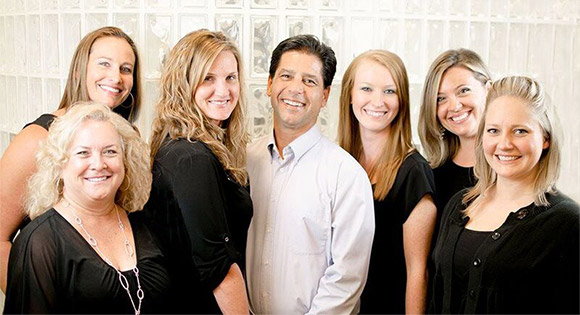 Smiling Indigo Dental team